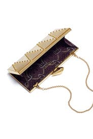 Golden Perspex Minaudiere by Kotur