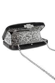 Sable Watersnake Clutch by Rebecca Minkoff Handbags