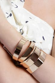 Geometric Bangle Set by AV Max