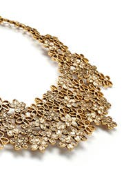 Twinkling Meadow Statement Necklace by Oscar de la Renta