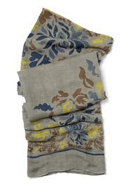 Blue Tuscany Scarf by Theodora and Callum Accessories