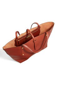 Saddle Tote Bag by Annabel Ingall