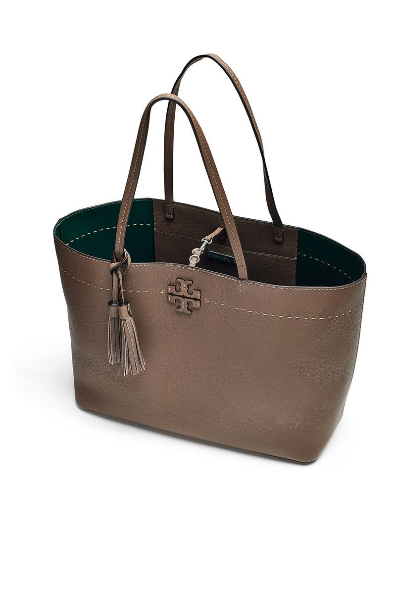 ed331c6d1f6 Grey McGraw Tote by Tory Burch Accessories for  60